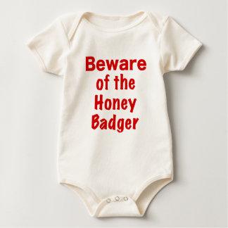 Beware of the Honey Badger Romper