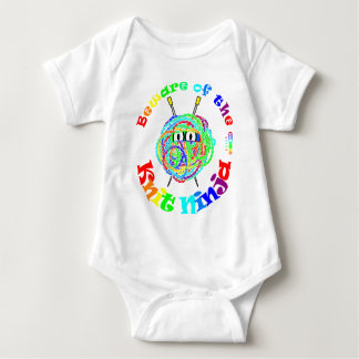 Beware of the Knit Ninja Baby Bodysuit