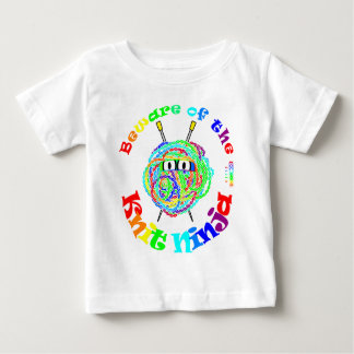 Beware of the Knit Ninja Baby T-Shirt