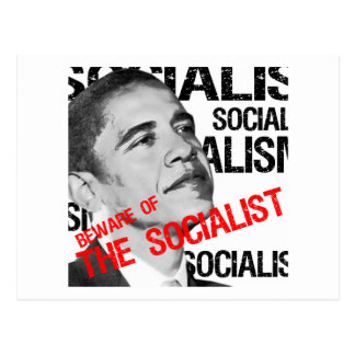 Beware of the Socialist Postcard