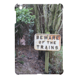 Beware of the Trains! - Range Case For The iPad Mini