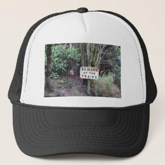 Beware of the Trains! - Range Trucker Hat
