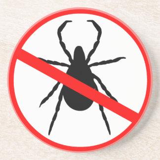 Beware of Ticks Coaster