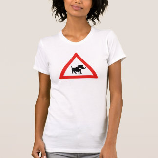 Beware of Warthogs, Traffic Sign, South Africa T-Shirt