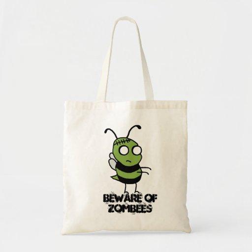 Beware of Zombees Tote Bag