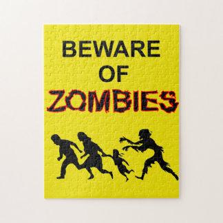 Beware of Zombie Puzzle