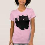 Beware the Black Cat Tee Shirts