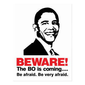 Beware The BO Light Postcard