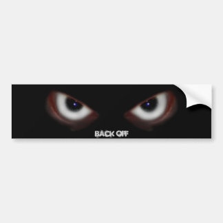 BEWARE THE EVIL EYES BUMPER STICKER