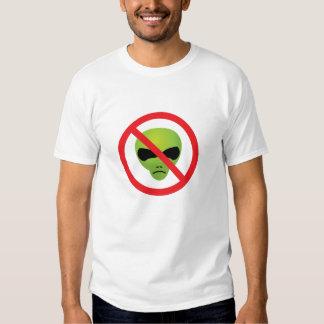 Beware the extraterrestrials tshirts