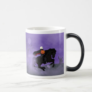 Beware the Halloween Horseman Magic Mug