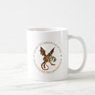 Beware the Jabberwock, My Son. The Jaws That Bite Coffee Mug