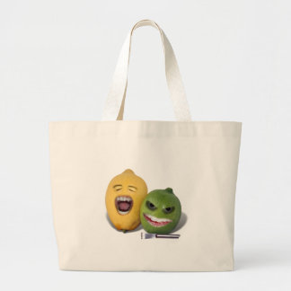 Beware the Lemon Zester Jumbo Tote Bag