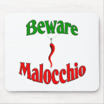 Beware The Malocchio (Evil Eye) Mousepads
