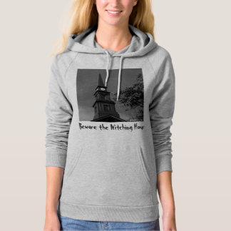 'Beware the Witching Hour' Ldies Hoodie Sweatshirt