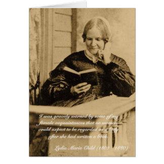 Beware, Women Writers! Card