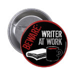 Beware: Writer at Work Buttons