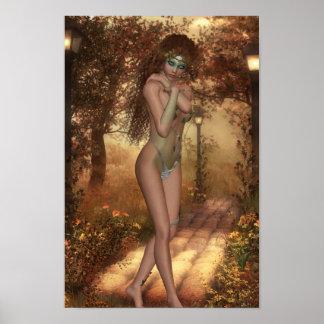 Bewitching Dryad Poster