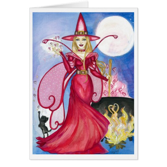 Bewitching Fairy Greeting Card (blank inside)