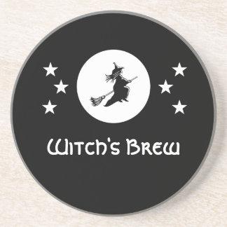 Bewitching Halloween Coaster, Black Coaster
