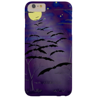 Bewitching Hour with Full Yellow Moon and Bats Barely There iPhone 6 Plus Case