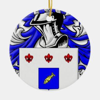 Beyeler Coat of Arms Christmas Ornament