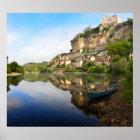 Beynac-et-Cazenac and Dordogne river poster