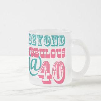 Beyond Fabulous 40th Birthday Mug