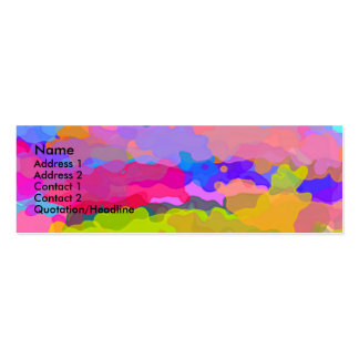 Beyond The Rainbow Profile Card Pack Of Skinny Business Cards