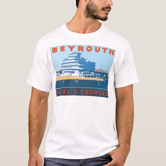 Beyrouth Hotel St. Georges, Vintage T-Shirt