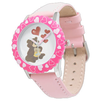 Bezel with Pink Watch