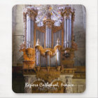 Béziers cathedral organ mousepad - vertical