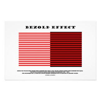 Bezold Effect (Optical Illusion) Customised Stationery