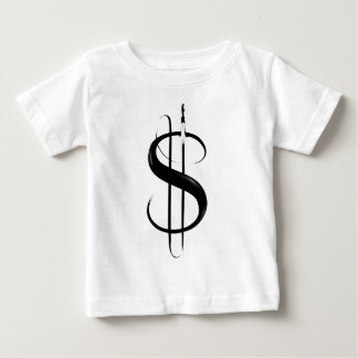 BF00016(DOLLAR SIGN)_PRINT.png Baby T-Shirt