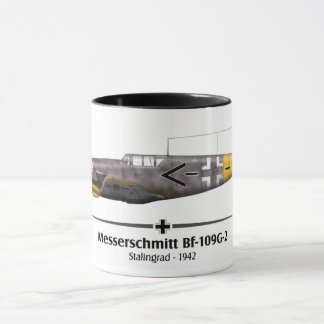 Bf-109G-2 - Luftwaffe - Stalingrad Battle - 1942 Mug