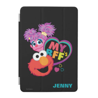 BFF Abby and Elmo | Add Your Name iPad Mini Cover