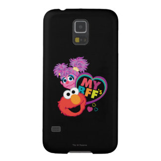BFF Abby and Elmo Case For Galaxy S5