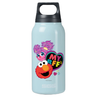 BFF Abby and Elmo Insulated Water Bottle