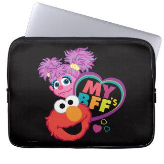 BFF Abby and Elmo Laptop Sleeve