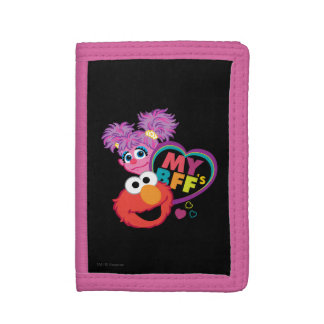 BFF Abby and Elmo Trifold Wallets