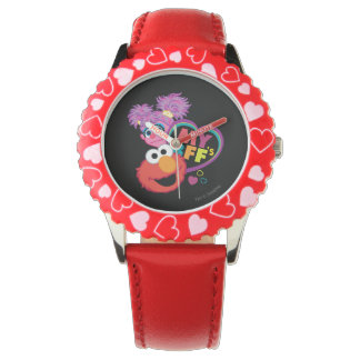 BFF Abby and Elmo Wristwatches
