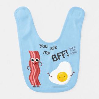 BFF Bacon Fried Friend Bibs