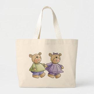 bff-bears canvas bags