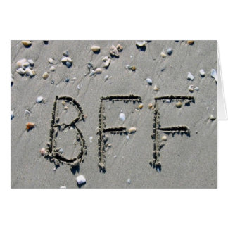 BFF BEST FRIEND FOREVER GREETING CARDS
