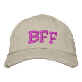 BFF Best Friend Forever Embroidered Hats