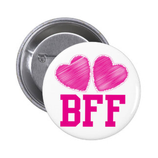 BFF Best friends forever !!! awesome! 6 Cm Round Badge