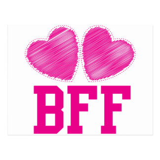 BFF Best friends forever !!! awesome! Postcard