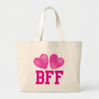 BFF Best friends forever !!! awesome! Jumbo Tote Bag