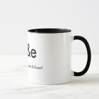 BFF BEST FRIENDS FOREVER & EVER CUSTOMIZABLE MUG