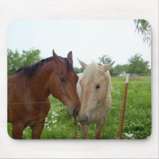 BFF Best Friends Forever - Horses Mouse Pad